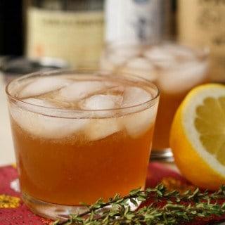 Bourbon Apple Autumn Cocktail (1 of 2)