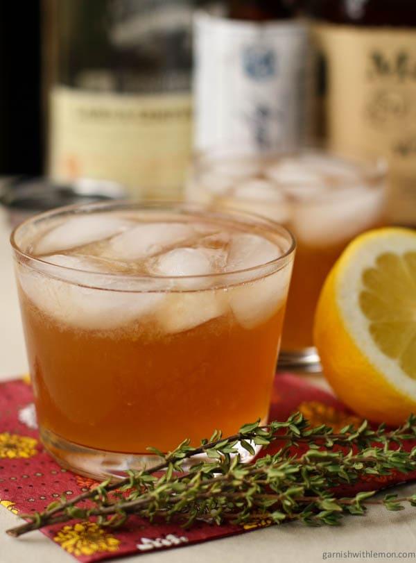 Bourbon Apple Autumn Cocktail