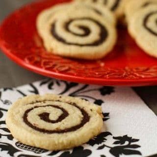 Chocolate Coconut Pinwheels