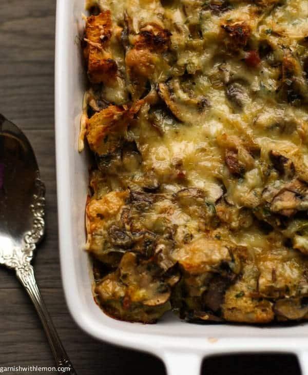 Mushroom Bread Pudding Recipes — Dishmaps