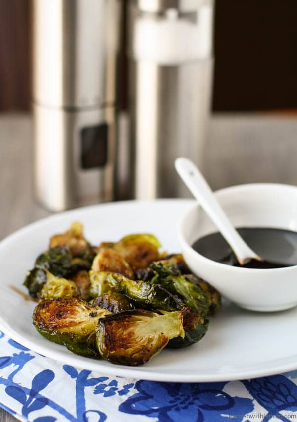 Eating your greens just got easier (and tastier!) with these 5-ingredient Roasted Brussels Sprouts with Balsamic Reduction.