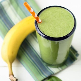 Spinach Banana Protein Smoothie feature