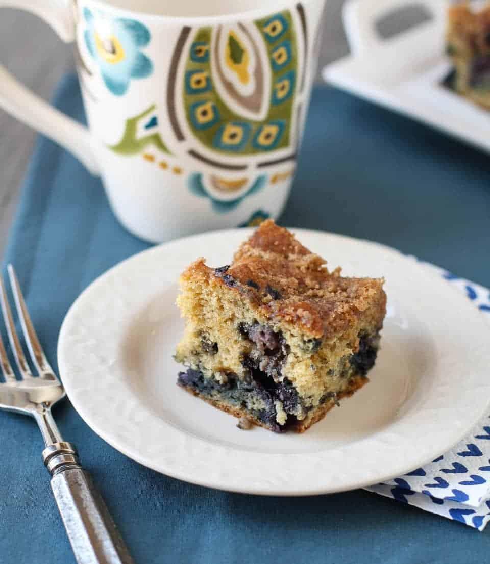Ellie Krieger Blueberry Coffee Cake