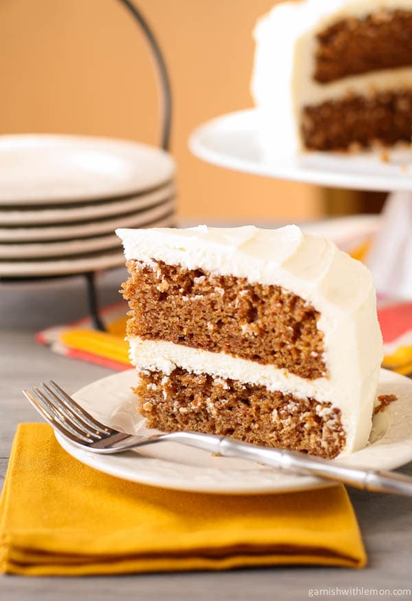 Read more from Carrot Cake with Cream Cheese Frosting at Garnish with ...