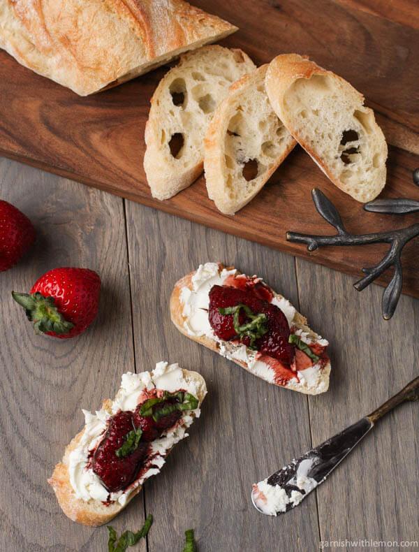 Balsamic Roasted Strawberries