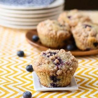 Blueberry Lemon Poppy Seed Muffins