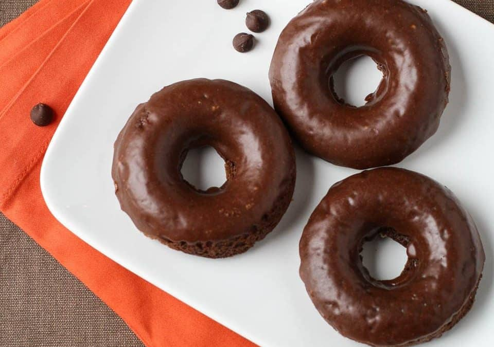Mexican Chocolate Donuts