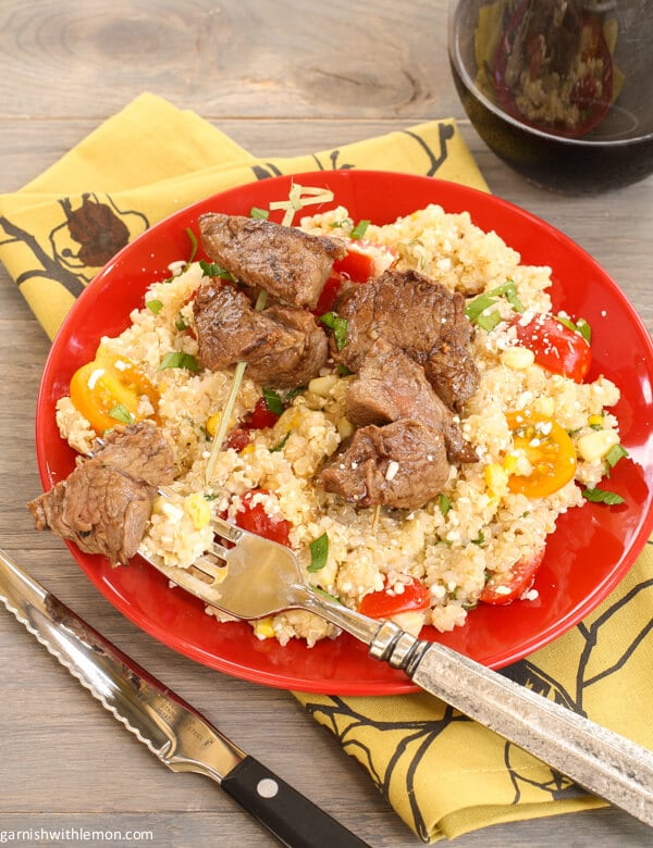 ... corn and i like to treat tomato salads polenta tomato and corn salad