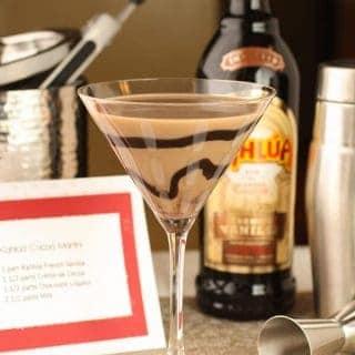 Kahlua Cocoa Martini