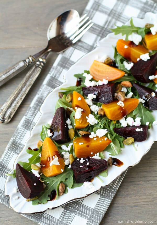 how to cook golden beets for salad
