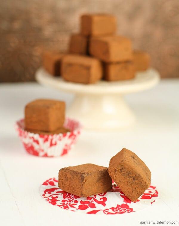 Charles Chocolates Bittersweet Chocolate Truffles Recipe — Dishmaps