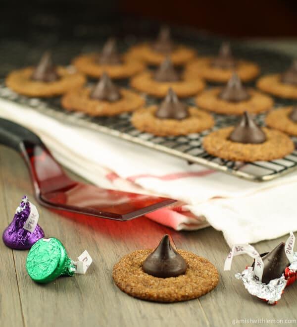 Molasses Kiss Cookies