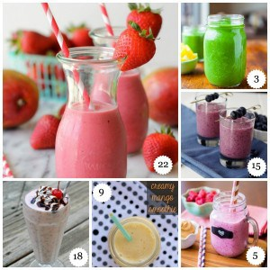 25 Delicious Smoothies to Jumpstart the New Year - Garnish with Lemon