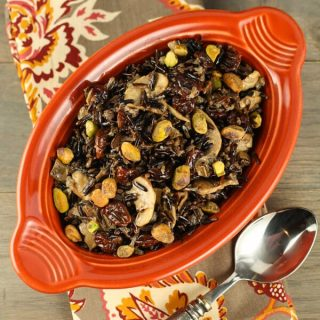 Wild Rice with Pistachios and Cherries