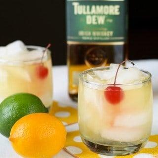 Meyer Lemon Whiskey Sours