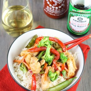 Spicy Sweet Chicken Stir Fry