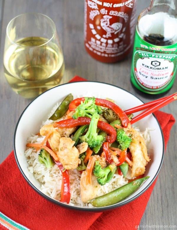 Spicy Sweet Chicken Stir Fry