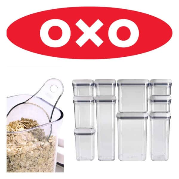 OXO POP Containers & Scoops