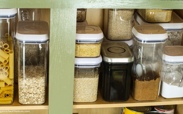 Pantry Organization (and an OXO POP Container giveaway!)