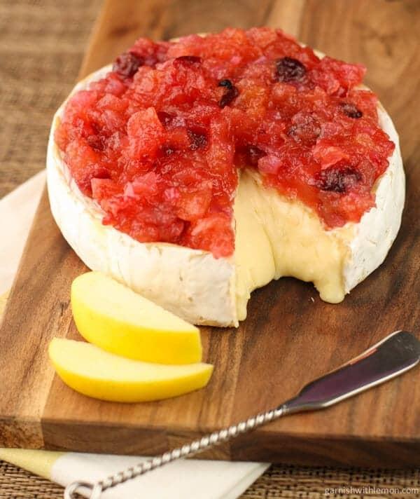 Opal® Apple Cranberry Chutney - Garnish with Lemon