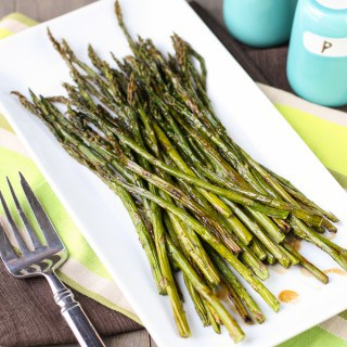 Balsamic Browned Butter Asparagus