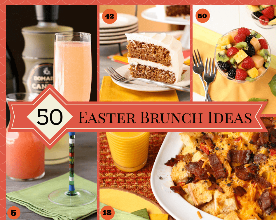 50 Easter Brunch Ideas from Garnish with Lemon