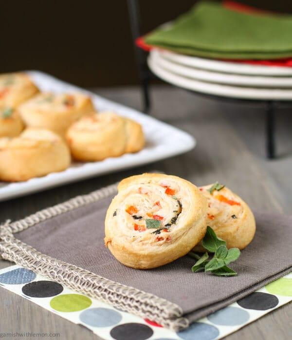 Easy Parmesan Pinwheels