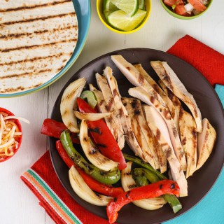 Tequila Lime Chicken Fajitas  (1 of 2)