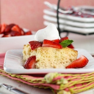 Tres Leches Cake with Strawberries (1 of 2)