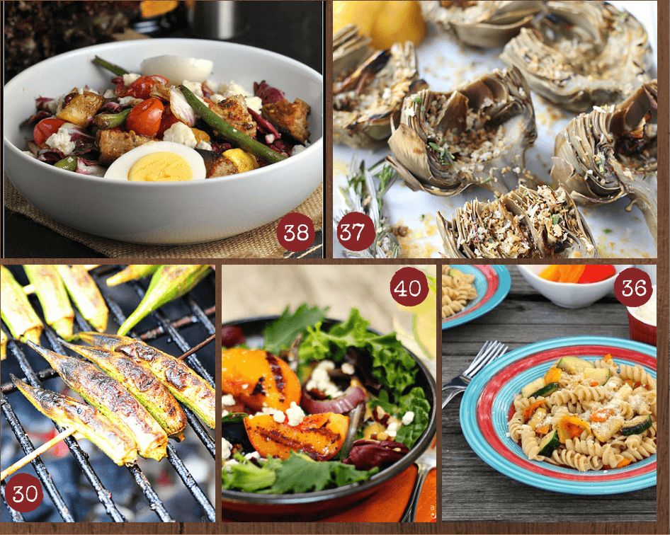 50 Summer Grilling Recipes from Garnish with Lemon