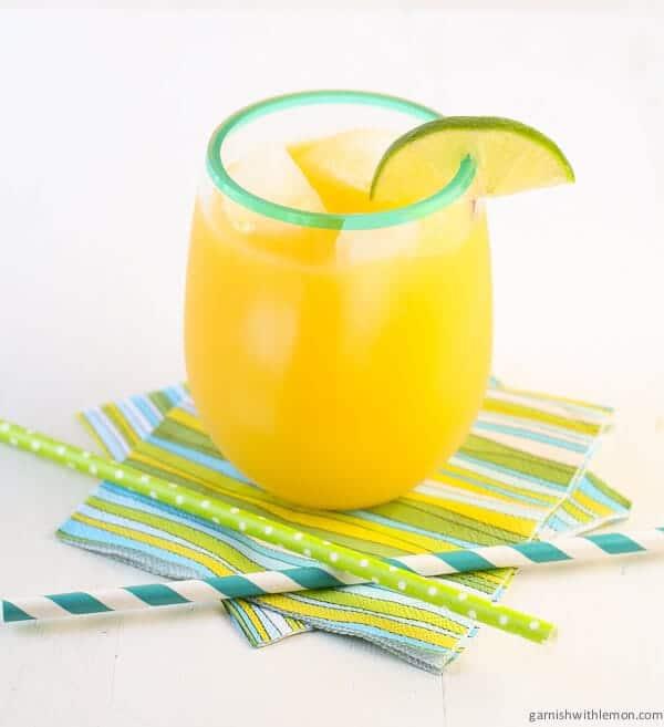 Mango Ginger Agua Fresca