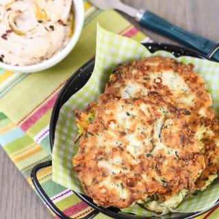 Zucchini Feta Fritters