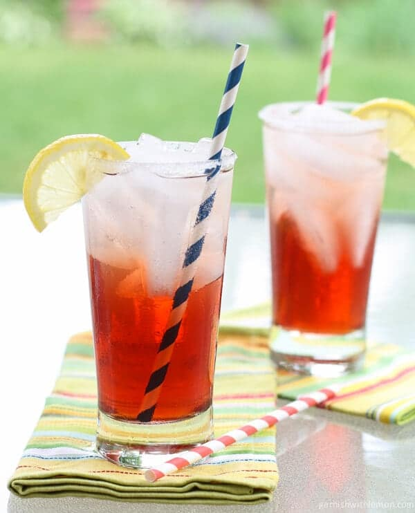 Cranberry Tea Spritzer