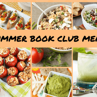 Summer Book Club Menu