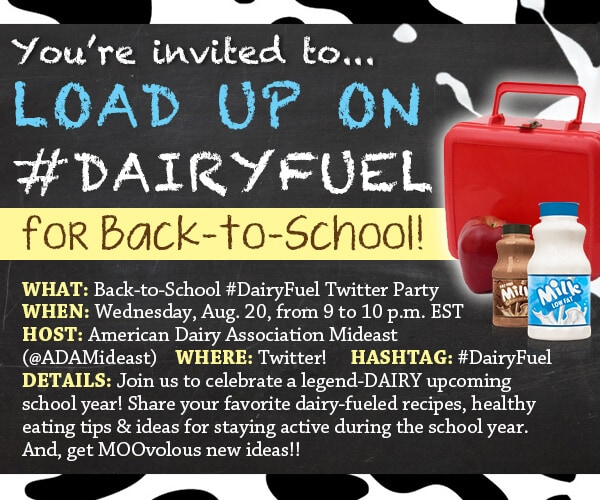 ADA Back to School Twitter Party