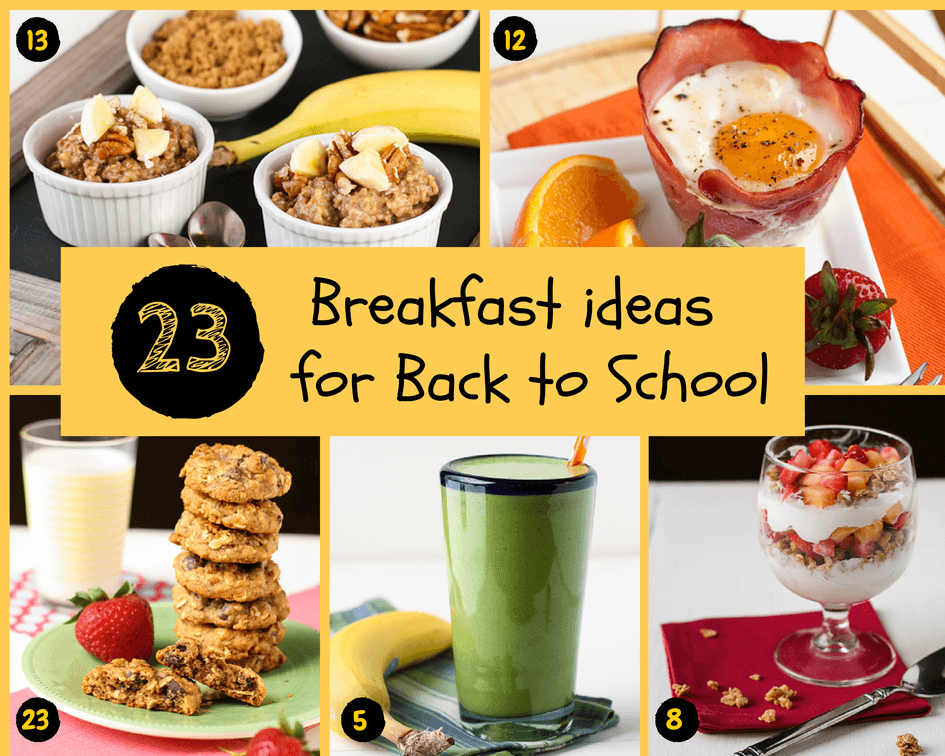 23 Back to School Breakfast Ideas | Garnish with Lemon