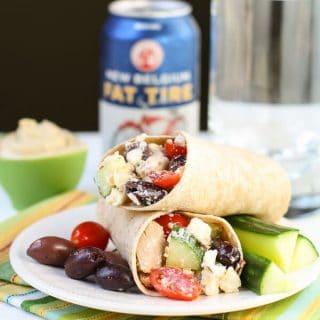 Greek Chicken Wrap (1 of 2)