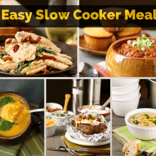 5 Easy Slow Cooker Meals