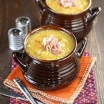 Easy Slow Cooker Split Pea Soup with Ham (1 of 2)