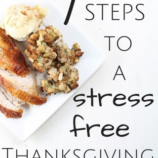7 Steps to a Stress Free Thanksgiving
