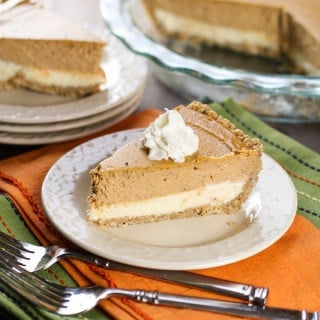 Layered Pumpkin Cheesecake Pie  (1 of 2)