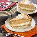 Layered Pumpkin Cheesecake Pie  (2 of 2)