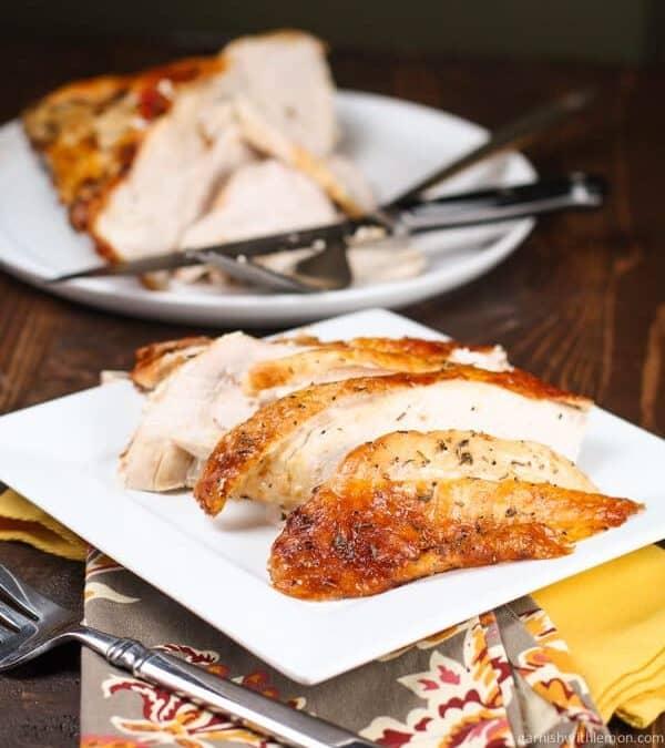 Easy Herb Roasted Turkey Breast