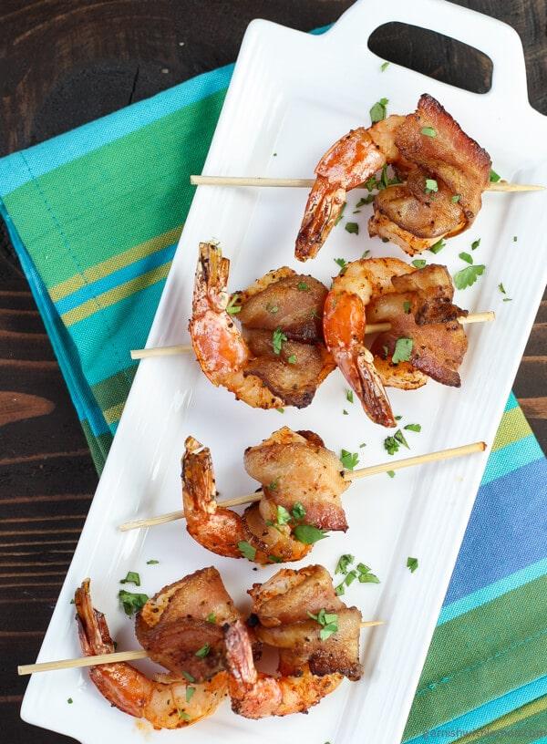 Easy bacon wrap shrimp recipe