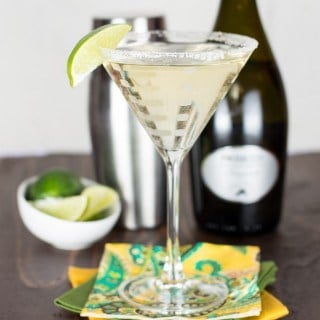 Gin, Elderflower & Prosecco Cocktail