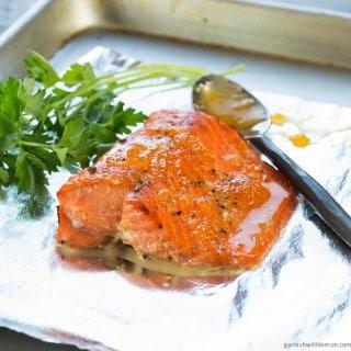 Apricot Horseradish Salmon (1 of 2)