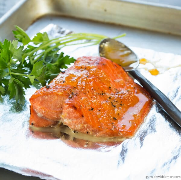 fe17e4564ef7 I can t believe I have kept this recipe from you for so long! Apricot  Horseradish Salmon is a family favorite that I ve made for years. Best  thing