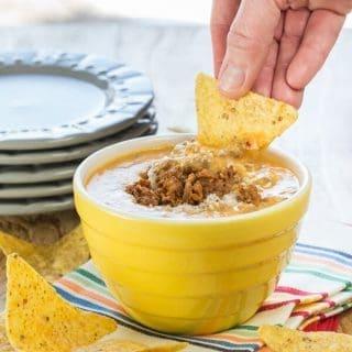 Chipotle Chorizo Queso Dip