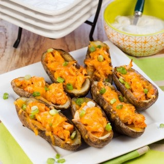 Buffalo Chicken Potato Skins (1 of 2)