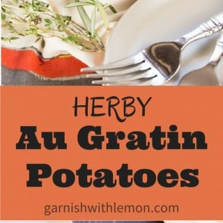 Herby Au Gratin Potatoes - Pinterest